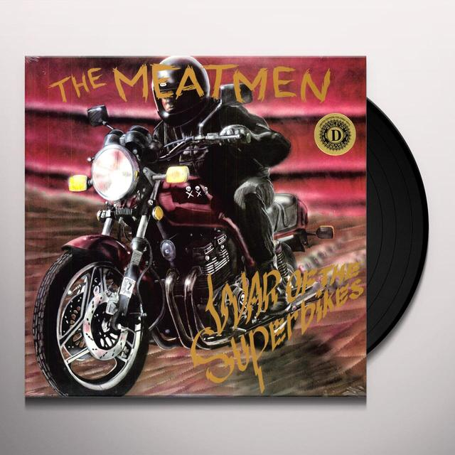The Meatmen WAR OF THE SUPERBIKES Vinyl Record - Limited Edition