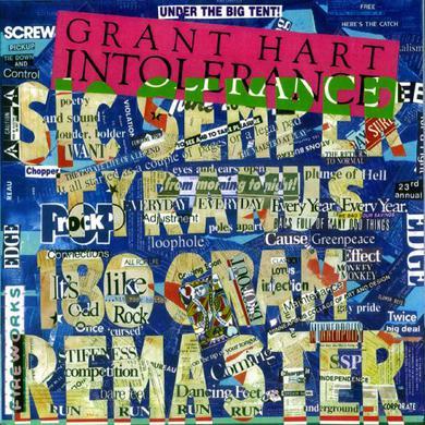 Grant Hart INTOLERANCE Vinyl Record