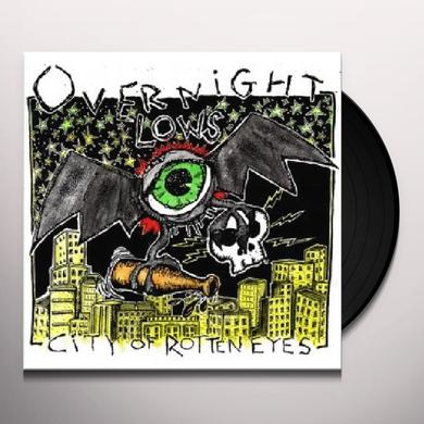 Overnight Lows CITY OF ROTTEN EYES Vinyl Record - Digital Download Included