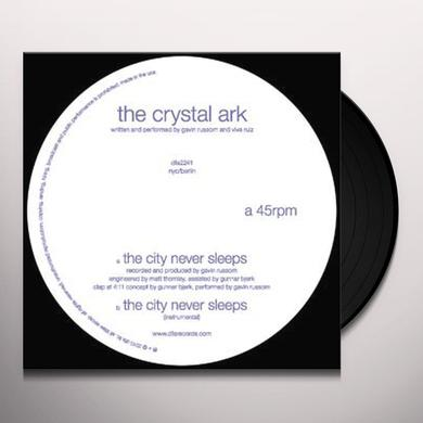 The Crystal Ark CITY NEVER SLEEPS Vinyl Record