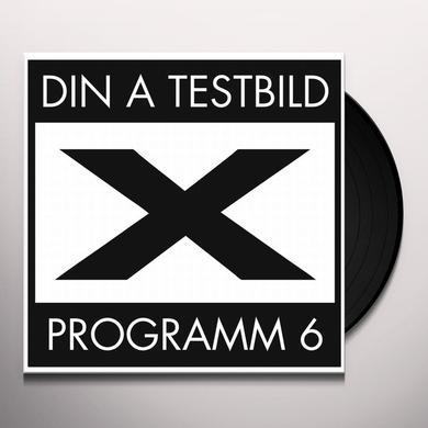 Din A Testbild PROGRAMM 6 Vinyl Record