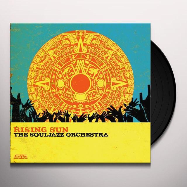 The Souljazz Orchestra RISING SUN Vinyl Record