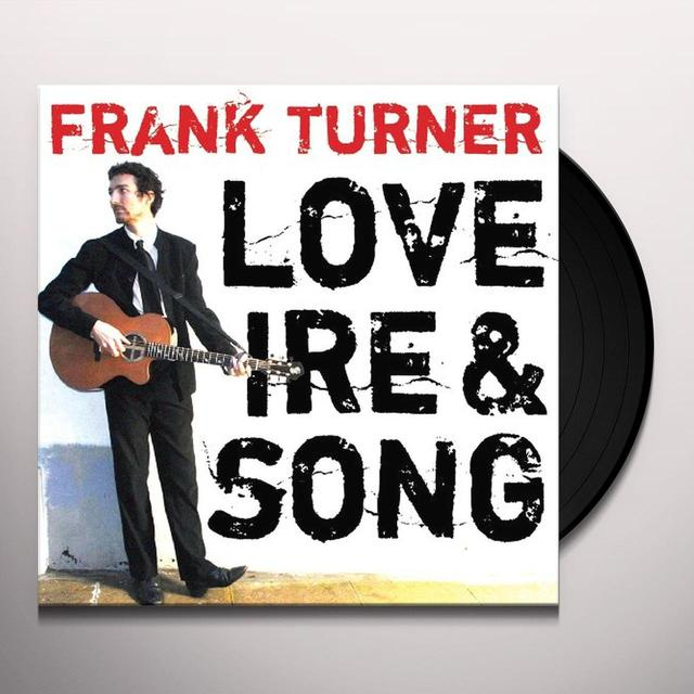 Frank Turner LOVE IRE & SONG Vinyl Record - Digital Download Included