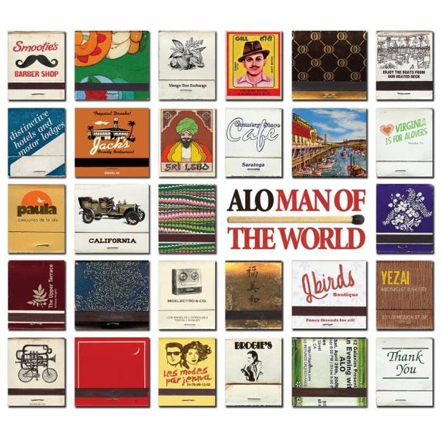 Alo MAN OF THE WORLD Vinyl Record
