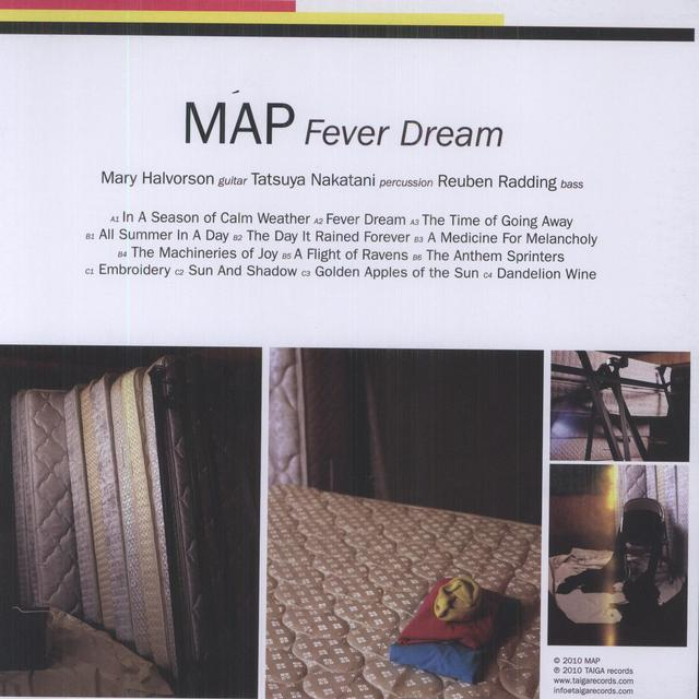 Map FEVER DREAM Vinyl Record