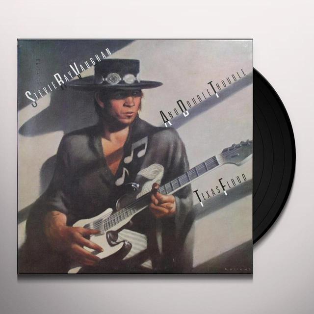 Stevie Ray Vaughan & Double Trouble TEXAS FLOOD Vinyl Record