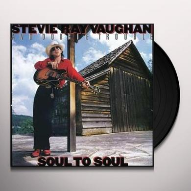 Stevie Vaughan SOUL TO SOUL Vinyl Record