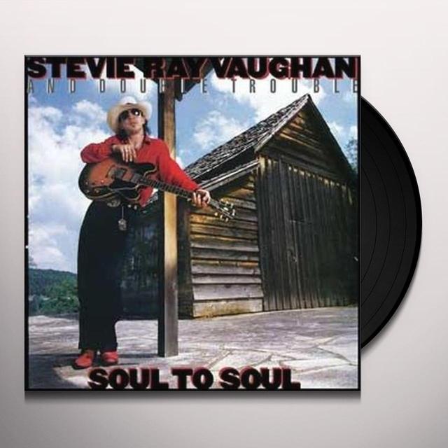 Stevie Vaughan SOUL TO SOUL Vinyl Record