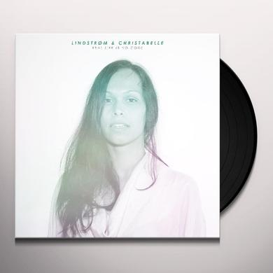 Lindstrom / Christabelle REAL LIFE IS NO COOL Vinyl Record