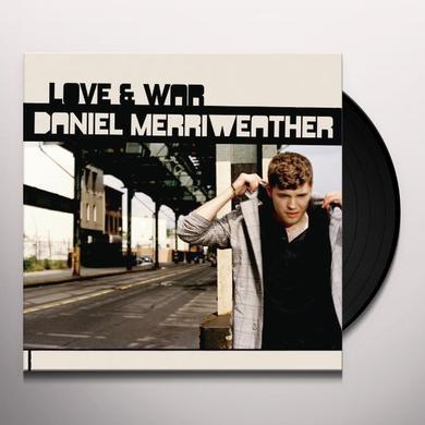 Daniel Merriweather LOVE & WAR Vinyl Record