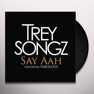 Trey Songz SAY AHH / I INVENTED SEX Vinyl Record