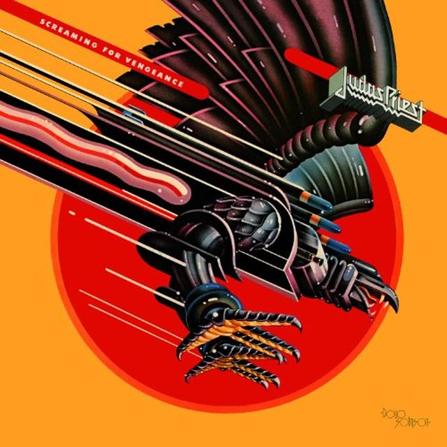 Judas Priest SCREAMING FOR VENGEANCE Vinyl Record - 180 Gram Pressing