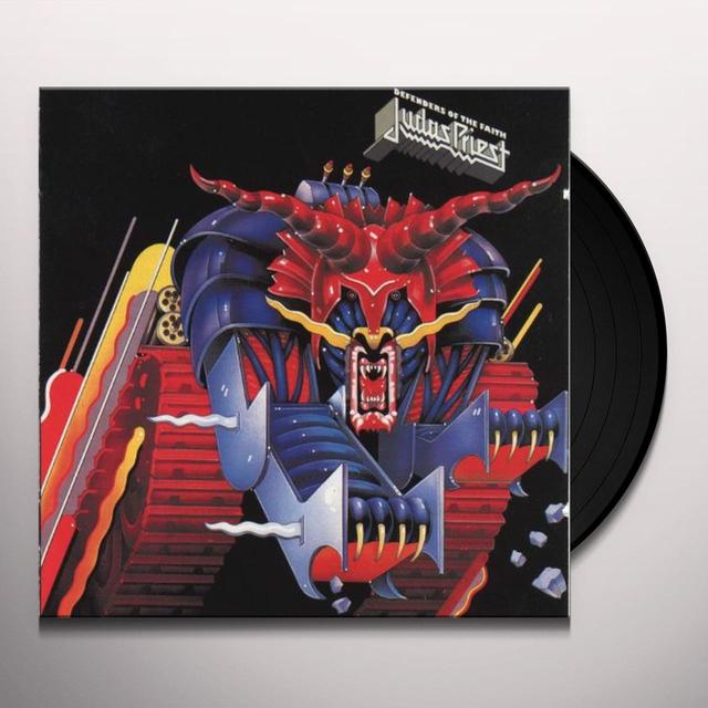 Judas Priest DEFENDERS OF THE FAITH Vinyl Record - 180 Gram Pressing