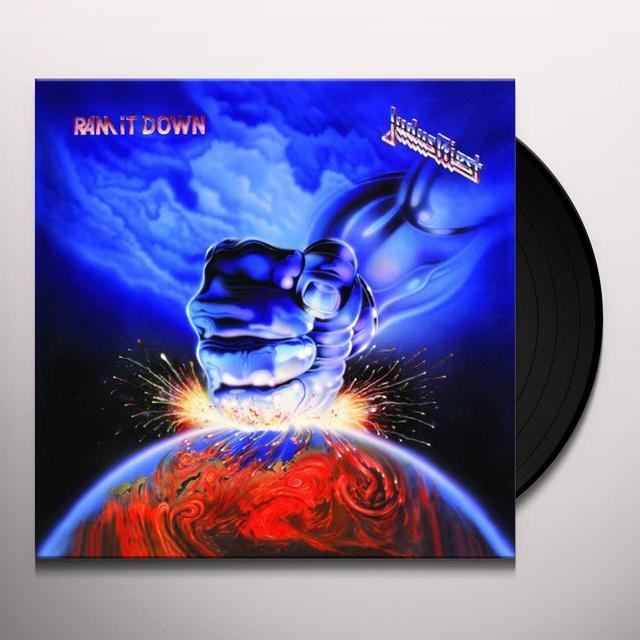 Judas Priest RAM IT DOWN Vinyl Record - 180 Gram Pressing