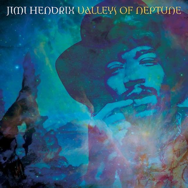 Jimi Hendrix VALLEYS OF NEPTUNE Vinyl Record