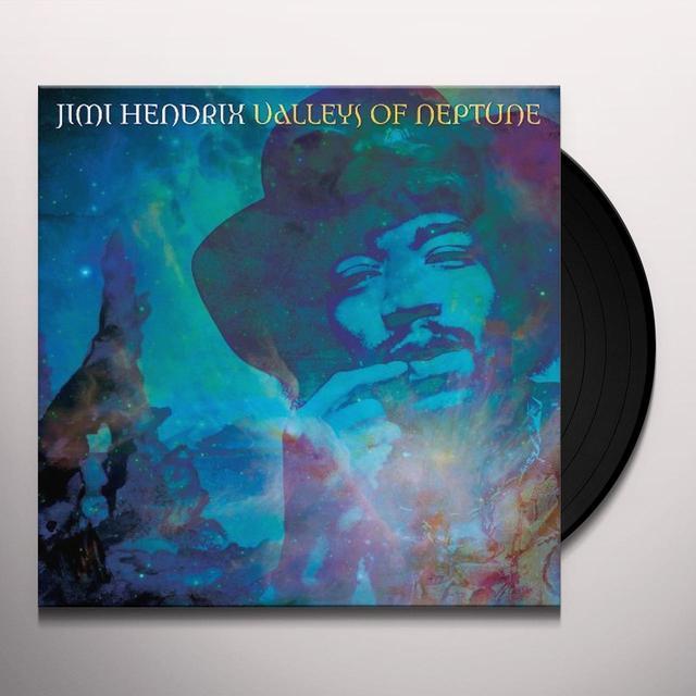 Jimi Hendrix VALLEYS OF NEPTUNE Vinyl Record - 180 Gram Pressing