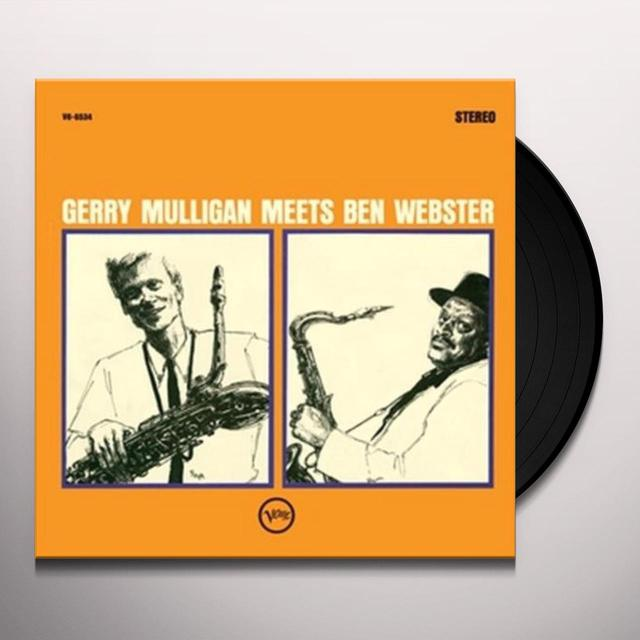 GERRY MULLIGAN MEETS BEN WEBSTER Vinyl Record - Limited Edition, 180 Gram Pressing