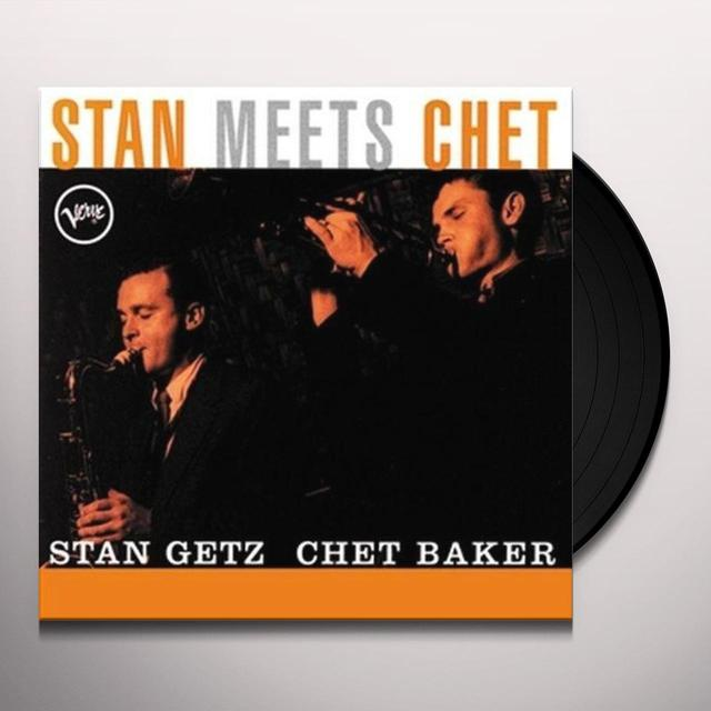 Stan / Chet Baker Getz STAN MEETS CHET Vinyl Record - Limited Edition, 180 Gram Pressing