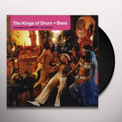 4Hero & Dj Marky KINGS OF DRUM + BASS Vinyl Record