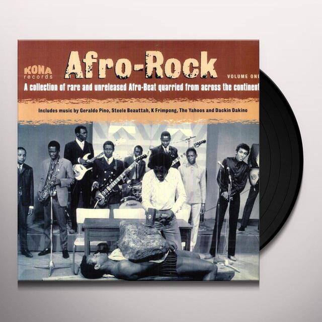 AFRO ROCK 1 / VARIOUS Vinyl Record