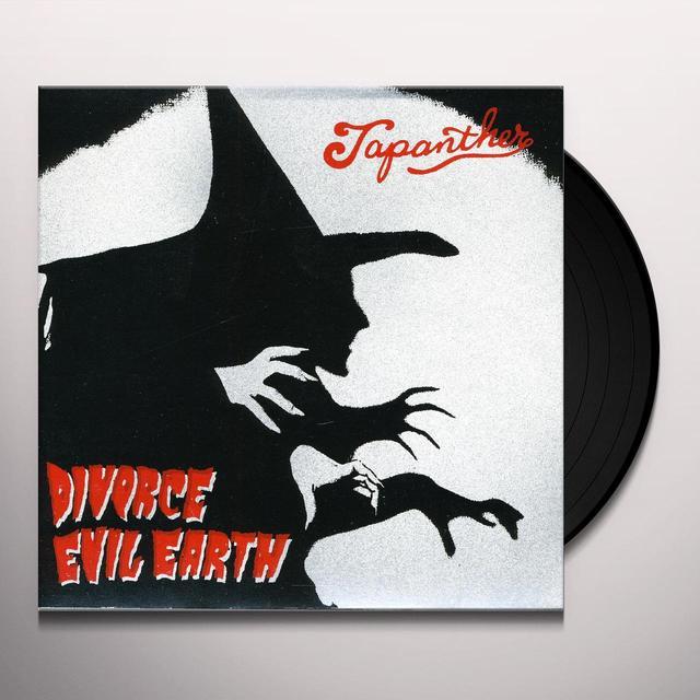 Japanther DIVORCE & EVIL EARTH Vinyl Record
