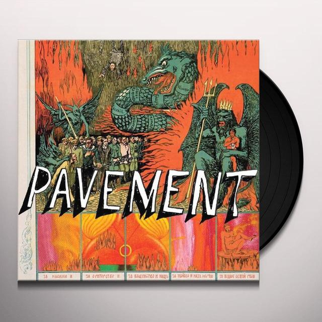 QUARANTINE THE PAST: THE BEST OF PAVEMENT Vinyl Record