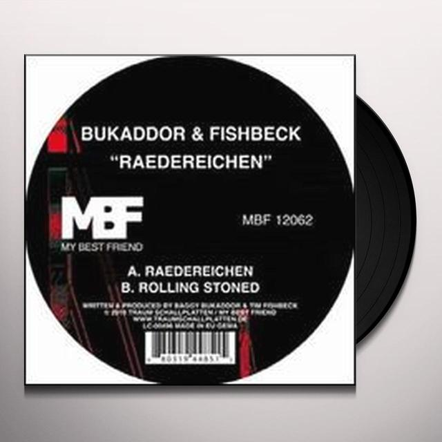 Bukaddor & Fishbeck RAEDEREICHEN Vinyl Record