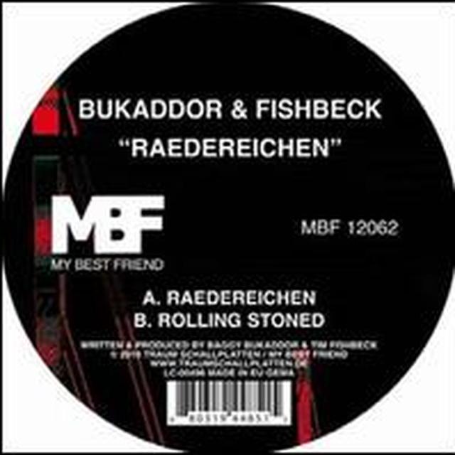 Bukaddor & Fishbeck RAEDEREICHEN (EP) Vinyl Record