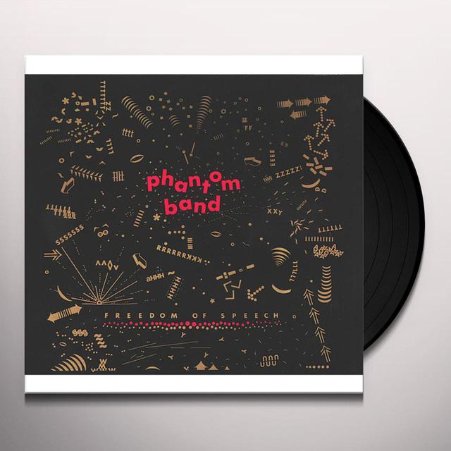 Phantom Band FREEDOM OF SPEECH Vinyl Record