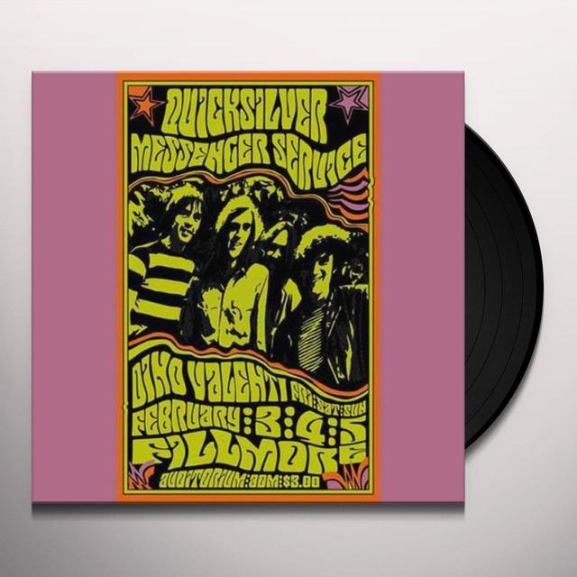 Quicksilver Messenger Service FILLMORE AUDITORIUM FEB 4TH 1967 WITH DINO Vinyl Record