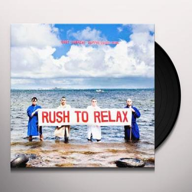 Eddy Current Suppression Ring RUSH TO RELAX Vinyl Record - Digital Download Included