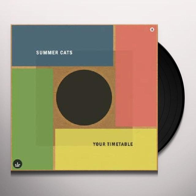 Summer Cats YOUR TIMETABLE Vinyl Record