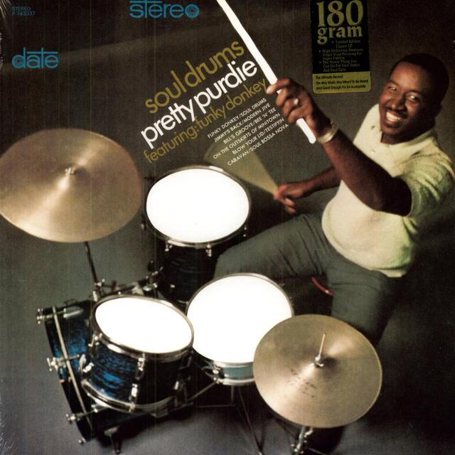 Bernard Purdie SOUL DRUMS Vinyl Record - 180 Gram Pressing