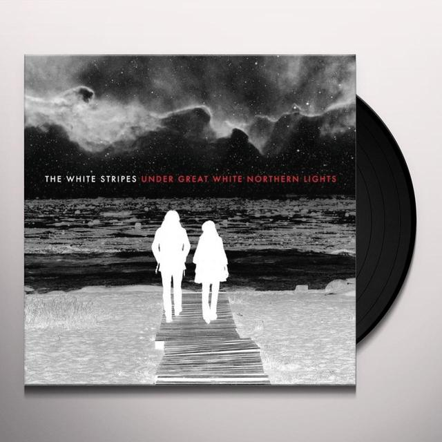 The White Stripes UNDER GREAT WHITE NORTHERN LIGHTS Vinyl Record - 180 Gram Pressing