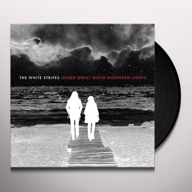 The White Stripes UNDER GREAT WHITE NORTHERN LIGHTS Vinyl Record - 180 Gram Pressing