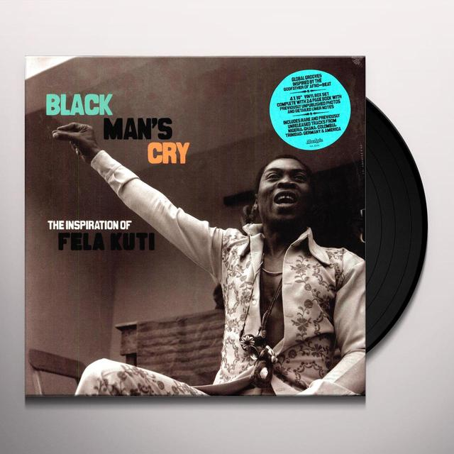 Fela Kuti BLACK MAN'S CRY Vinyl Record