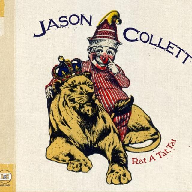 Jason Collett RAT A TAT TAT Vinyl Record