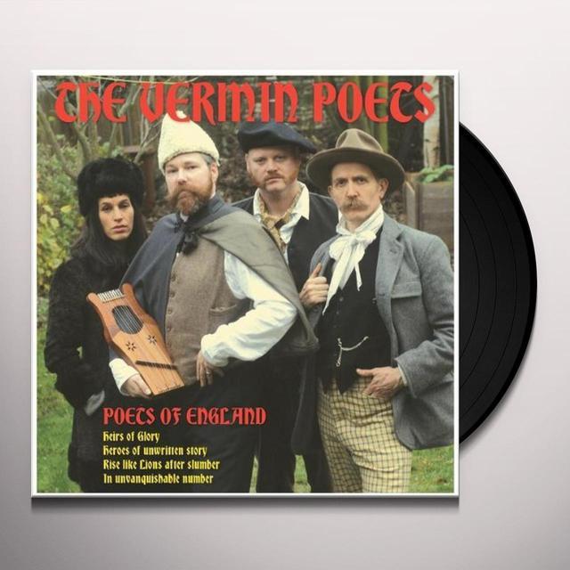 Vermin Poets POETS OF ENGLAND Vinyl Record