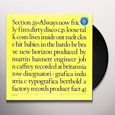 Section 25 ALWAYS NOW (LTD) (OGV) (Vinyl)