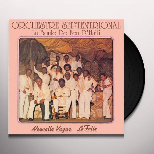 Orchestra Septentrional BOULE DE FEU D'HAITI Vinyl Record