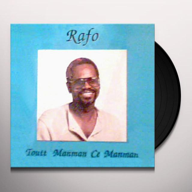 Rafols TOUTT MANMAN CE MANMAN Vinyl Record