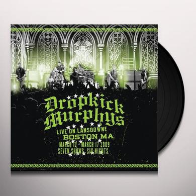 Dropkick Murphys LIVE ON LANDSDOWNE BOSTON MA (BONUS CD) Vinyl Record