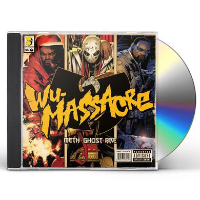 Meth / Ghost / Rae WU MASSACRE CD