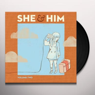 She & Him VOLUME TWO Vinyl Record - Digital Download Included