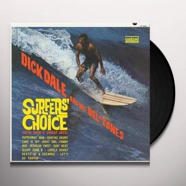 Dick / His Del-Tones Dale SURFERS CHOICE Vinyl Record