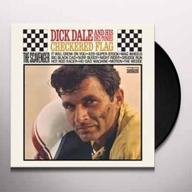 Dick / His Del-Tones Dale CHECKERED FLAG Vinyl Record