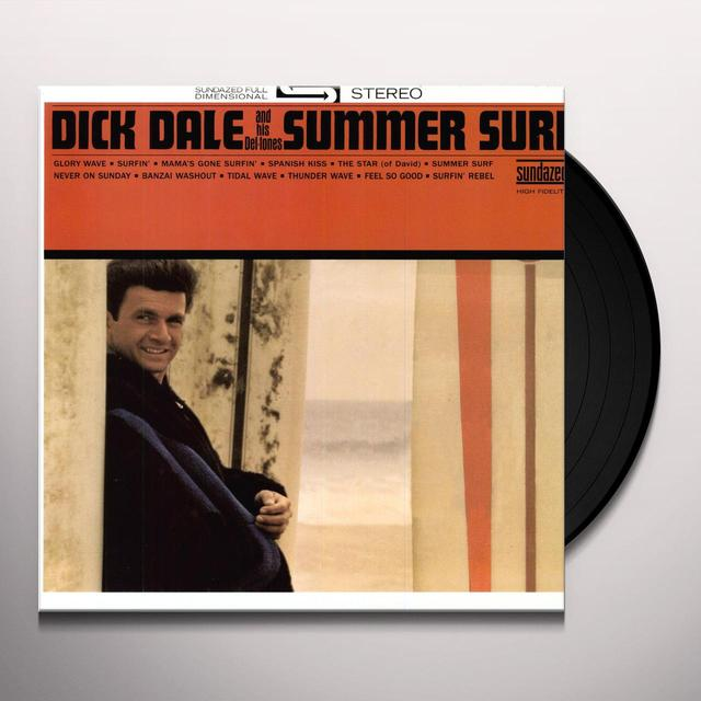 Dick / His Del-Tones Dale SUMMER SURF Vinyl Record - 180 Gram Pressing