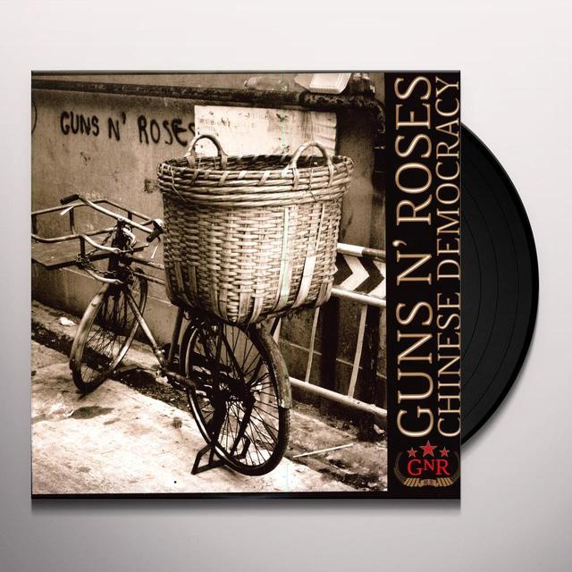 Guns N' Roses CHINESE DEMOCRACY Vinyl Record - 180 Gram Pressing