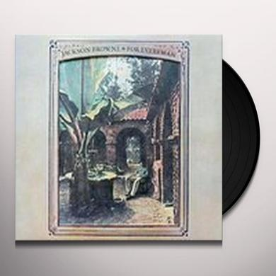 Jackson Browne FOR EVERYMAN Vinyl Record - 180 Gram Pressing