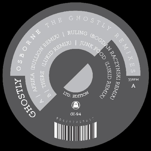 Osborne GHOSTLY REMIXES Vinyl Record - Limited Edition
